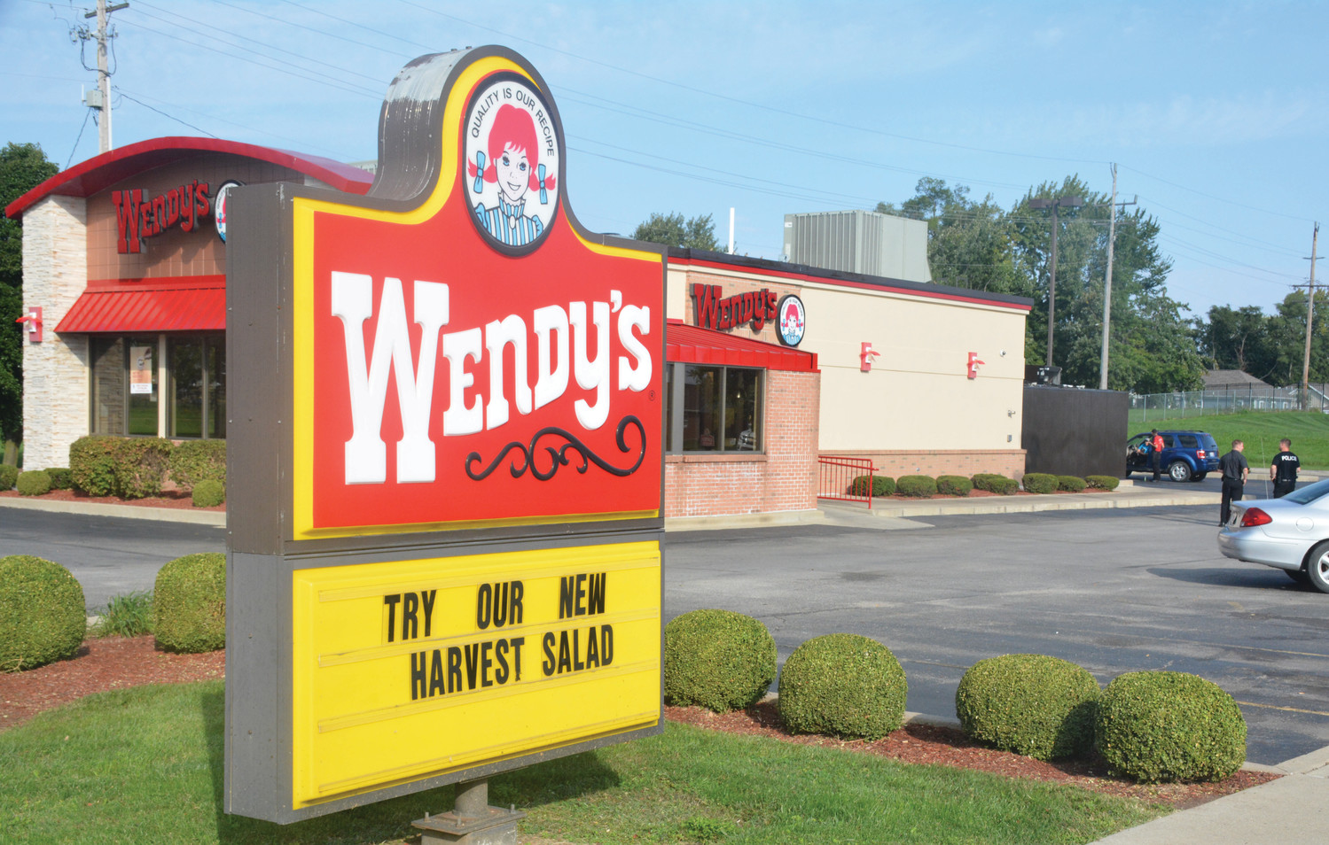 The Paris Wendy's Restaurant was robbed late Monday, Oct. 1, by two men brandishing handguns. Local police say they have several leads, and the Illinois State Police Crime Scene Investigation Unit is assisting.