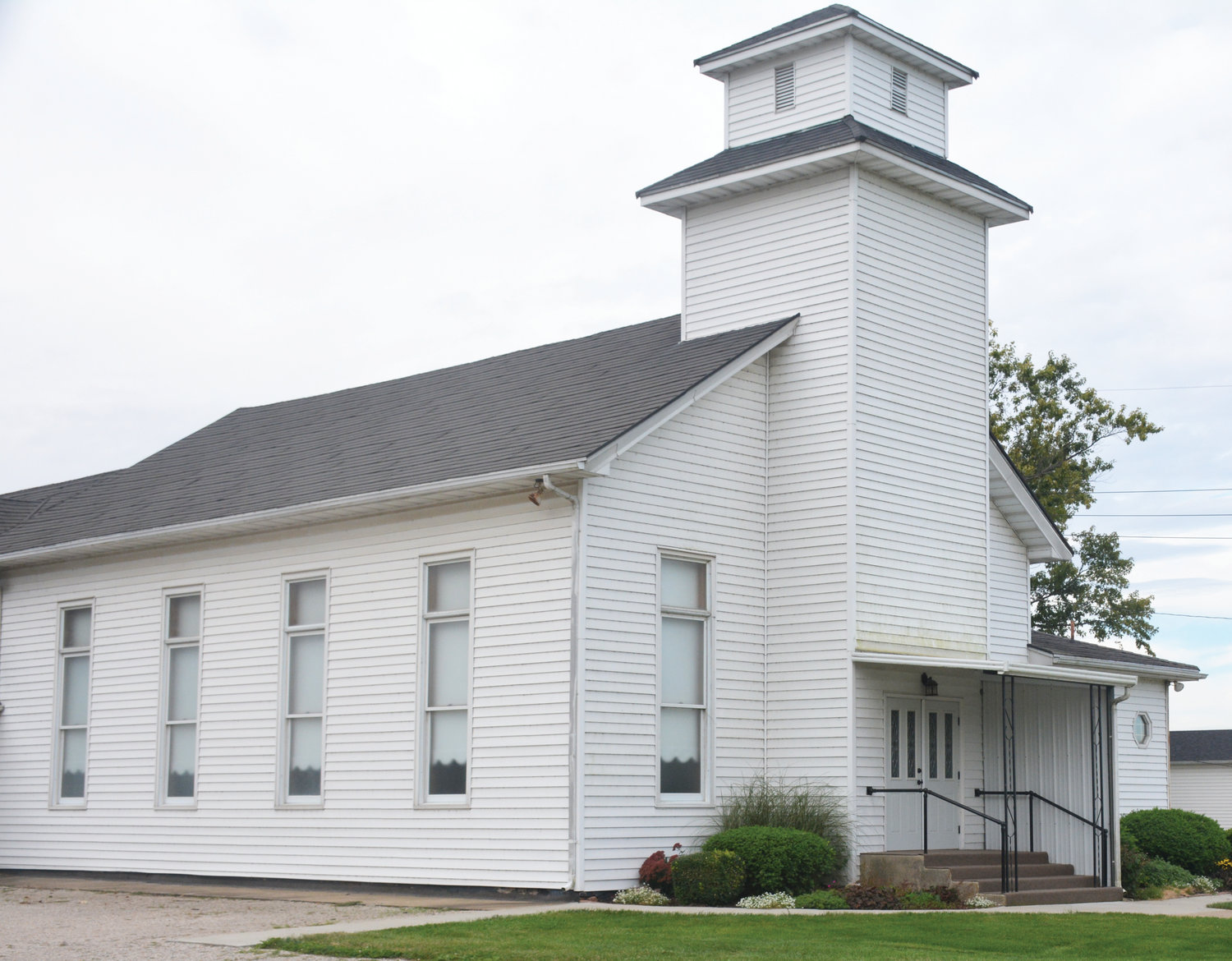The Horace Baptist Church was built in the late 1870's when the Tucker and Johnson families donated land to the church. The original structure still stands with additional space added on as the church congregation grew throughout the long history. The church is celebrating its 144th anniversary Oct. 7.  (Special to The Prairie Press)