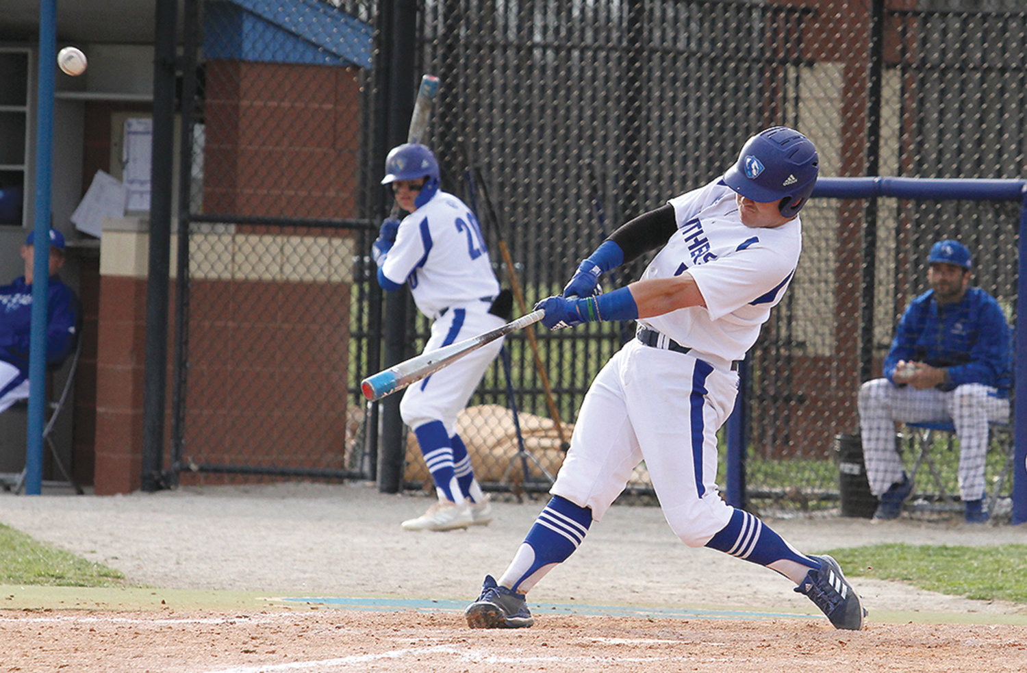 Hunter Morris picks up a hit during this past spring's Eastern Illinois University Panthers baseball season. Morris, a red-shirt senior, completed his collegiater baseball career with the Panthers after a stellar baseball career at Paris High School.
