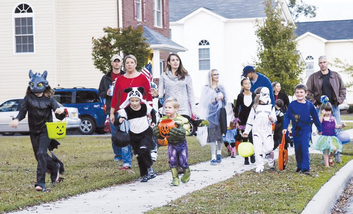 As the days grow shorter and trick-or-treaters are out, motorists need to be on alert for pedestrians.
