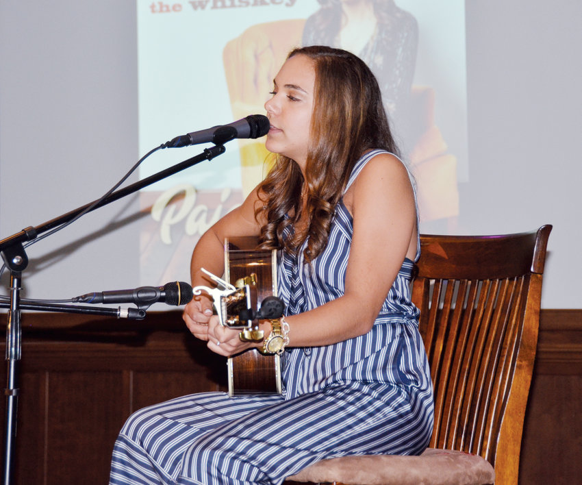 Angier singer-songwriter Paige King Johnson will perform at an oyster roast fundraiser at the Angier Depot Sunday. Johnson, who is a recent graduate of Belmont University in Nashville, Tennessee, now lives in Music City U.S.A. as she continues to create music and give live performances not only locally, but across the country.