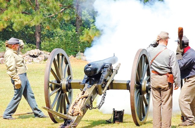 Due to the uncertainty regarding the COVID-19 pandemic, the reenactment, scheduled for March 21-22 at Bentonville Battlefield has been canceled. The event had been rescheduled from its original date in March 2020.