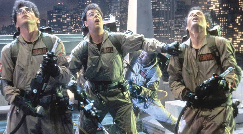 """It's Classic Movie Night Friday, Oct. 23, at 7:30 p.m. at The Stewart Theatre, 114 N. Wilson Ave., downtown Dunn. Here's your chance to see Dan Aykroyd, Bill Murray, Harold Ramis, Ernie Hudson and Sigourney Weaver in the 1984 action comedy """"Ghostbusters,"""" on the big screen. Face masks will be required to attend the event. Admission is $8 per person. Tickets may be purchased at stewarttheater.com."""