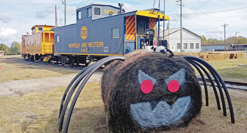 The train ride at the North Carolina Transportation Museum will be decorated for Halloween, with music to match.