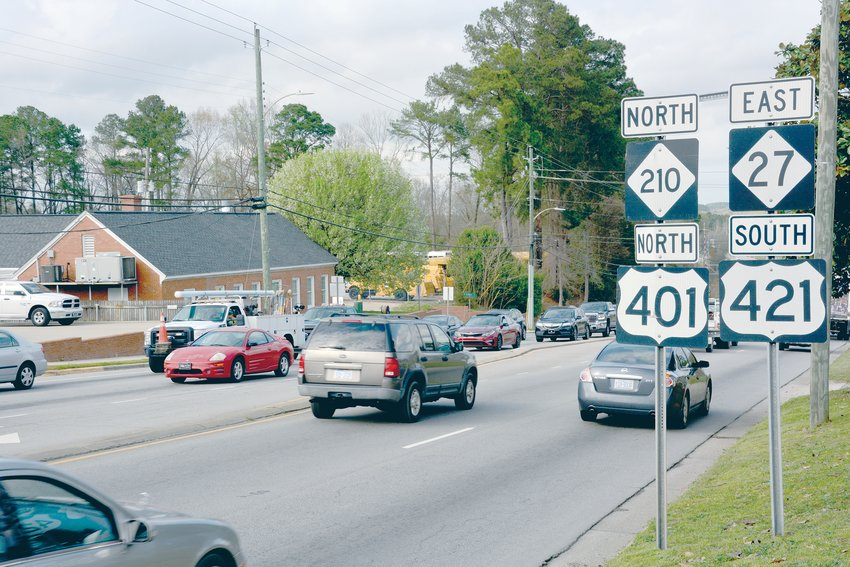 A study is being done of approximately 19 miles of U.S. Highway 401 from Banks Road in Wake County south through the town of Fuquay-Varina to the N.C. Highway 210 and U.S. Highway 421 intersection near Lillington in Harnett County; and about 7 miles for the future U.S. Highway 401.