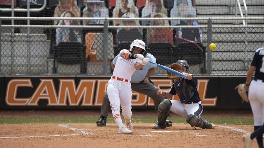 Campbell's Bri Bryant has been named Big South Player of the Week after a three-home run game against Charleston Southern.