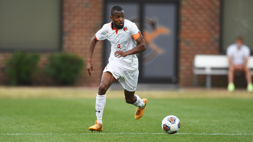Franck Momo represented Campbell on the first team during this year's All-South region selections by the United Soccer Coaches.
