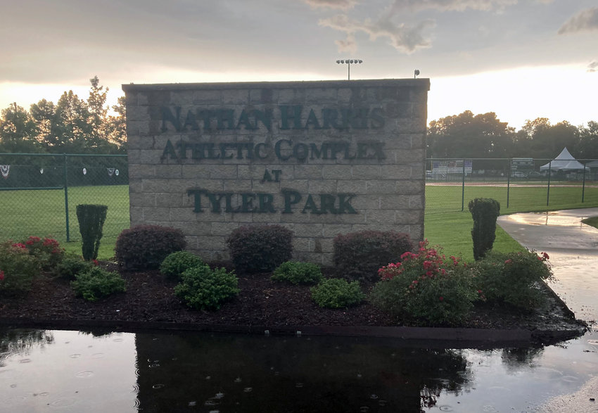 Opening day for this year's Dixie Youth Baseball state tournament at Tyler Park was canceled due to inclement weather.