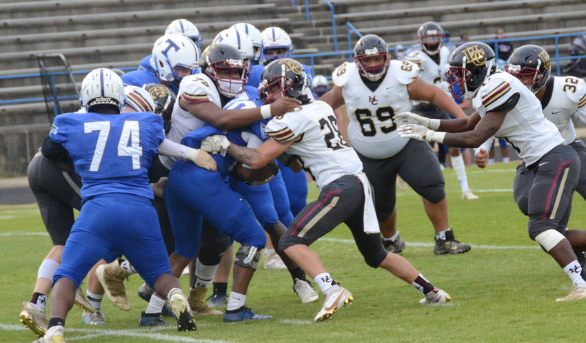 Triton and Harnett Central are among the eight-team field set to face off at this year's Harnett County Football Jamboree on Aug. 11. The customary scrimmage sessions were canceled last year due to COVID-19 concerns.