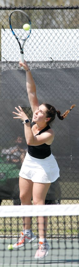 University of Mount Olive sophomore Ingrid Montserrat Montero, a native of Spain, and her teammates were recognized by the Intercollegiate Tennis Association for their academic excellence in the classroom this past spring.