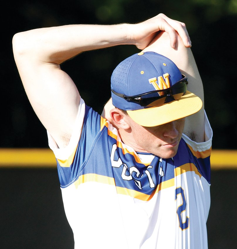 Will Pennington tossed a complete-game four-hitter as Wayne County Post 11 clinched a berth in the 2021 NC Senior American Legion state baseball tournament with a 5-2 victory over Pitt County Post 39 on Friday evening.