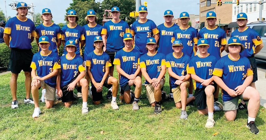 The Wayne County Post 11 Junior Legion baseball team won its final game in the NC Junior American Legion state tournament with a 3-2 victory over Hooks-Orr Matthews Post 235. The team ended the year 12-6 overall.