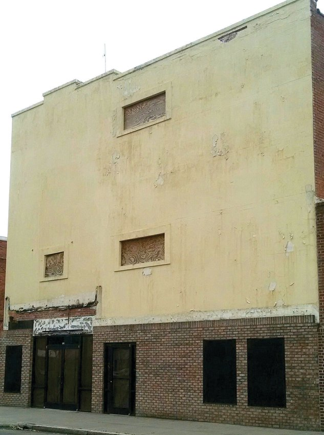 This is the old Center Theatre on Center Street.