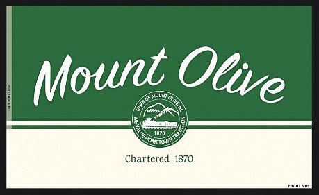 Town Commissioner Barbara Kornegay plans to make a proposal at the Sept. 13 meeting for residents to purchase yard flags, like this one, and a license plate, not pictured, to show their hometown pride.