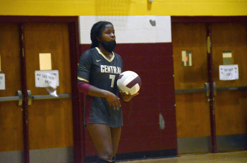 Harnett Central outside hitter Ivanna Jones earns Daily Record Player of the Week honors for Aug. 30-Sept. 4 after leading the Lady Trojans in kills during their first win of the year.