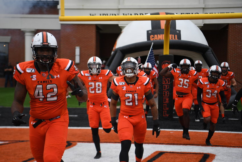 Campbell (0-1) played all four games on the road in 2020 and returns home for the first time in two years on Saturday against Elon (0-1).