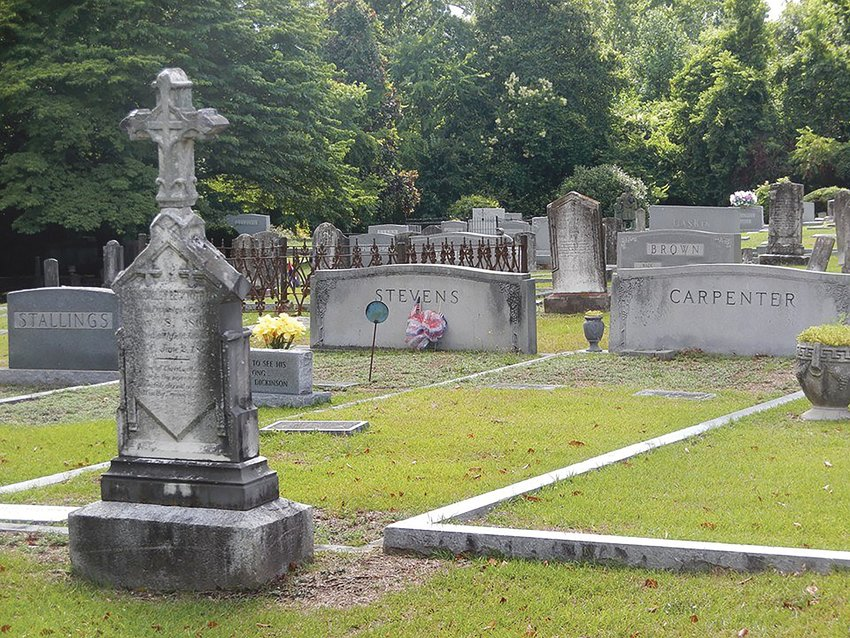 The 17th annual Ghost Walk will be held Oct. 28 in Smithfield's historic Riverside Cemetery.