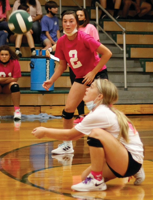 North Duplin ended a four-game skid with a four-set road win at Hobbton on Thursday.
