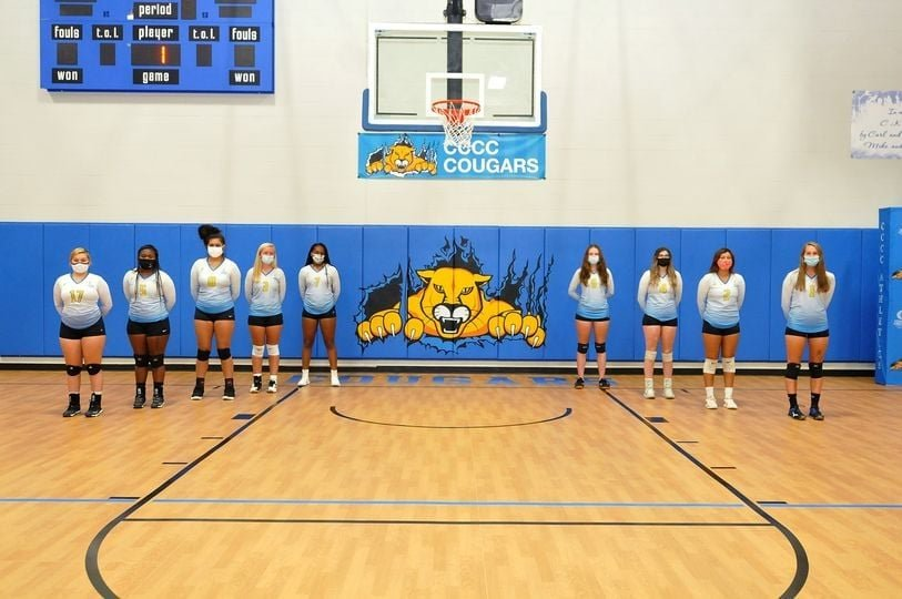 The Central Carolina Community College volleyball team has secured the No. 2 seed for the upcoming National Junior College Athletic Association Region 10 Tournament.