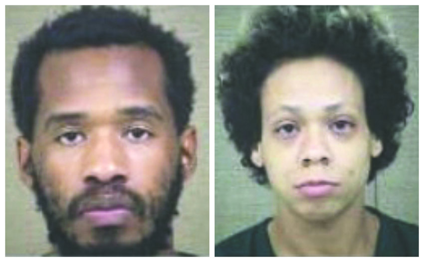 Thirty-one-year-old James Junius Parker Jr., is shown at left, with 34-year-old Erica Lynn Cabera.