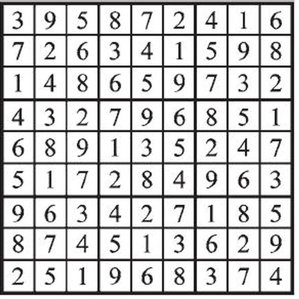 JANRIC CLASSIC SUDOKU | The Daily Record