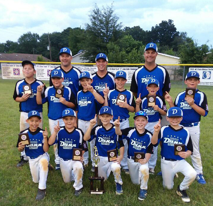 Dunn Majors All-Star Team Wins District Tournament   The Daily Record