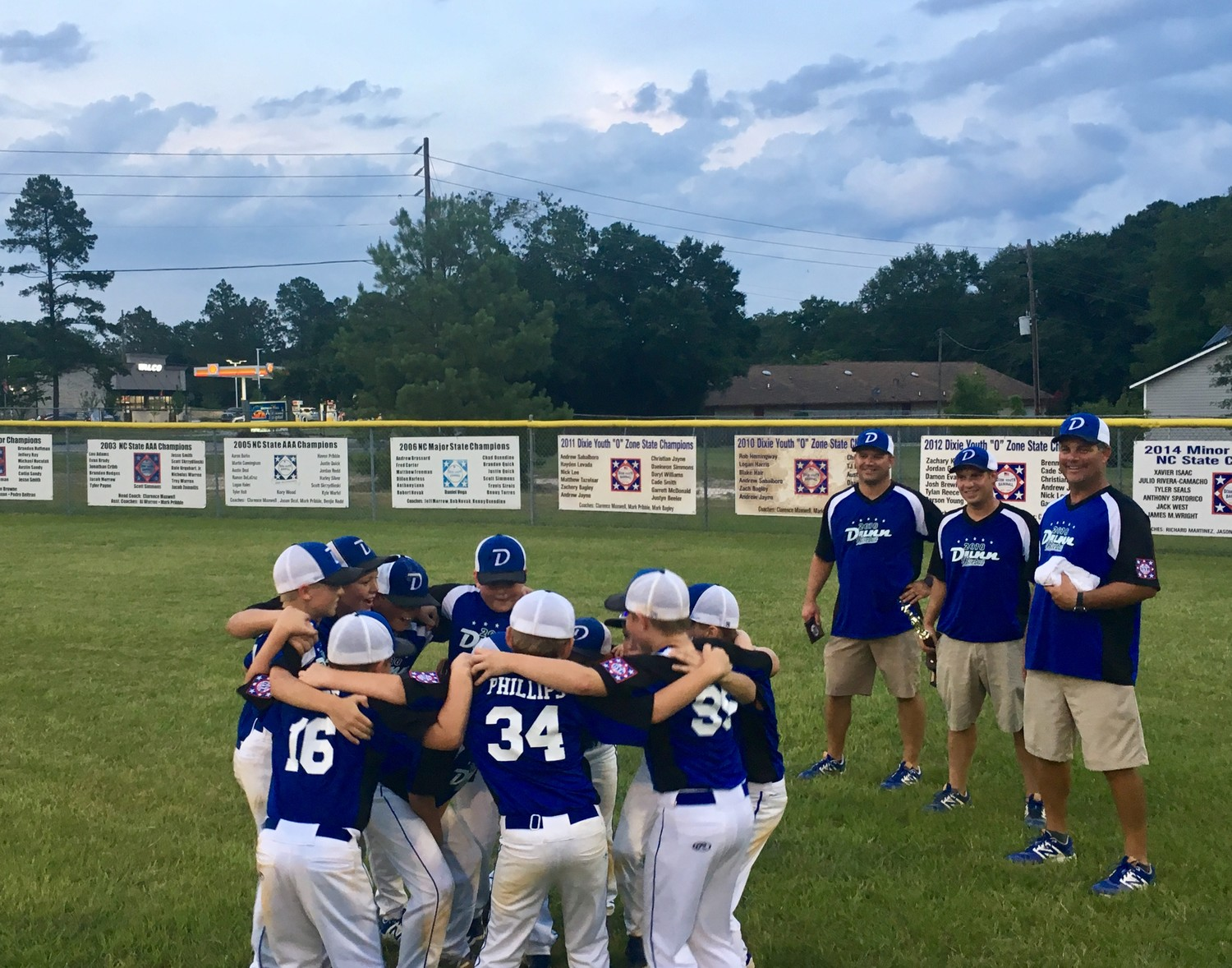 Dunn Majors All-Star Team Wins District Tournament | The