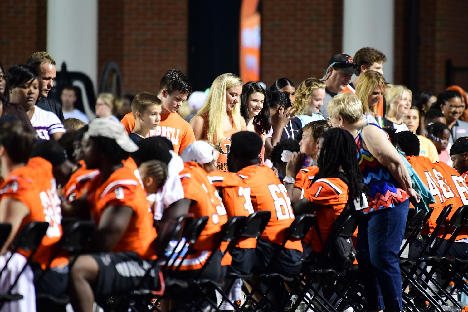 Campbell University football kicks off its 2018 schedule on Thursday, Aug. 30, hosting Chowan at Barker-Lane Stadium. The Camels open Big South play October 20 at Monmouth. The program held its annual Fan Fest on Saturday at Barker Lane Stadium.