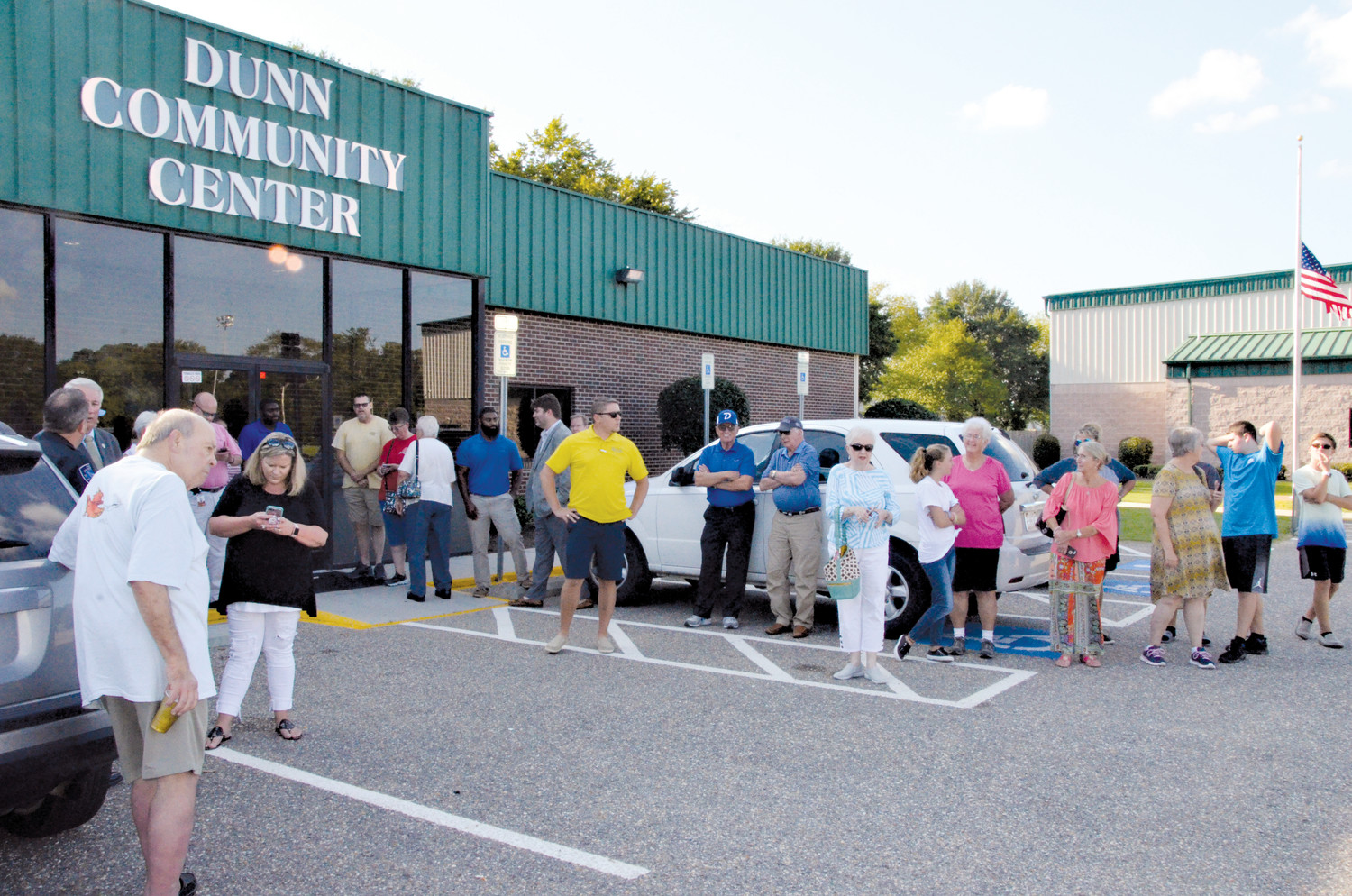 More than 50 people — friends, family, city officials and others — turned out to the Dunn Community Center on Wednesday evening to celebrate the accomplishments of the Dunn Angels. In early August, Dunn won its second 10U softball world championship in as many years.