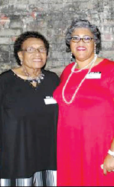Pictured are Margaret Williams, left, and Myra Laster.