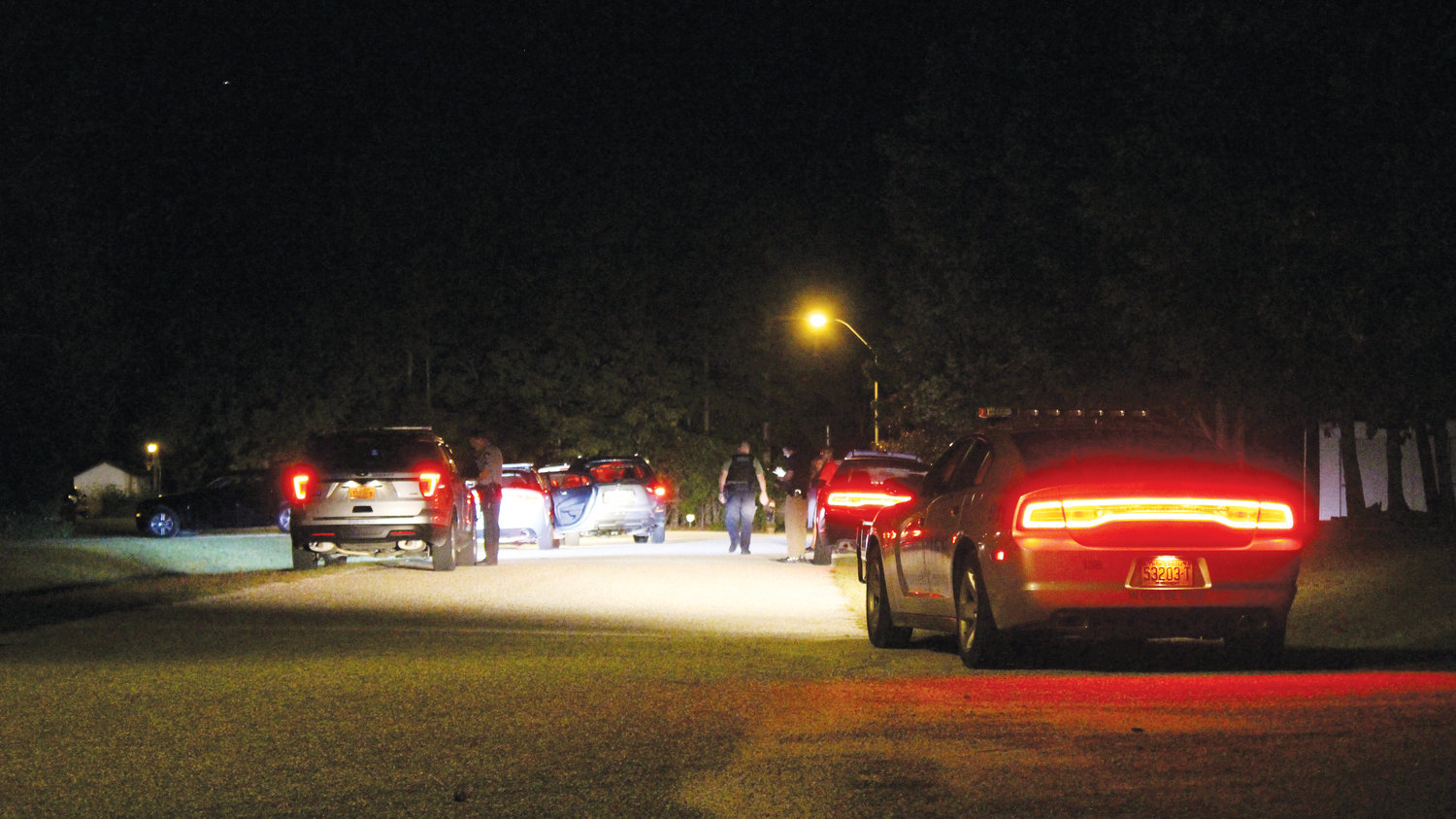 Harnett County Sheriff's deputies were called to the scene of a shooting in Ridge Run outside Lillington Tuesday night. Gerold McEachin Jr., 36, of U.S. 421, Lillington, was killed and the reported shooter, Christopher Chance, 33, lived at the home.