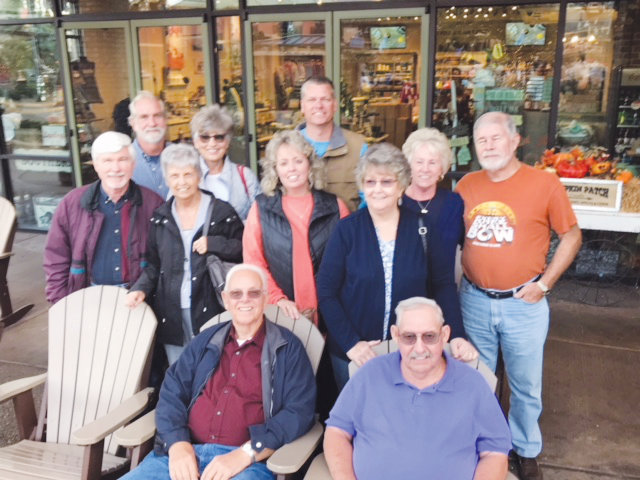 Pictured seated from left are Donnie Autry and Dennis Starling. Standing, first row: Randy Ivey, Henrietta Ivey, Tammy Autry and Rachel Starling. Second row: Ray Best, Wanda Best, Randy Autry, Sandra Frazier and Jerry Frazier.