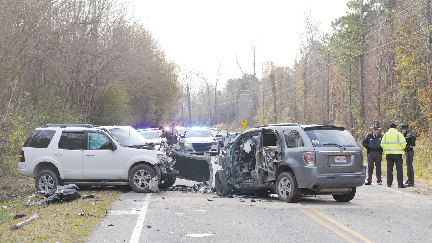 Godwin Man Dies In Early Morning Collision The Daily Record