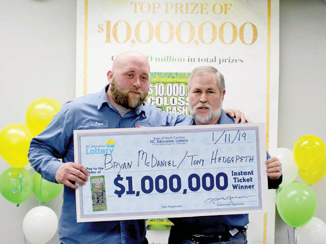 Dunn man splits lottery second chance win | The Daily Record