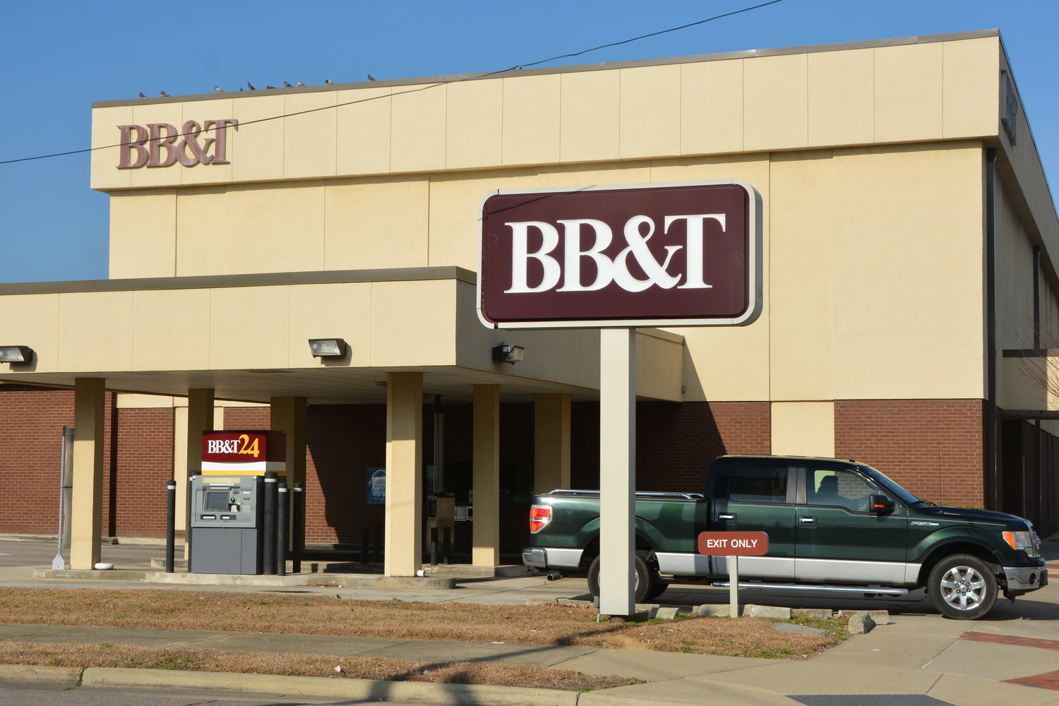 The main location for BB&T in Dunn, shown here, will undergo a name when the bank merges with SunTrust Bank later this year. The merger was announced Thursday. It is unclear how local branch locations of both banks will be affected when the merger is completed.