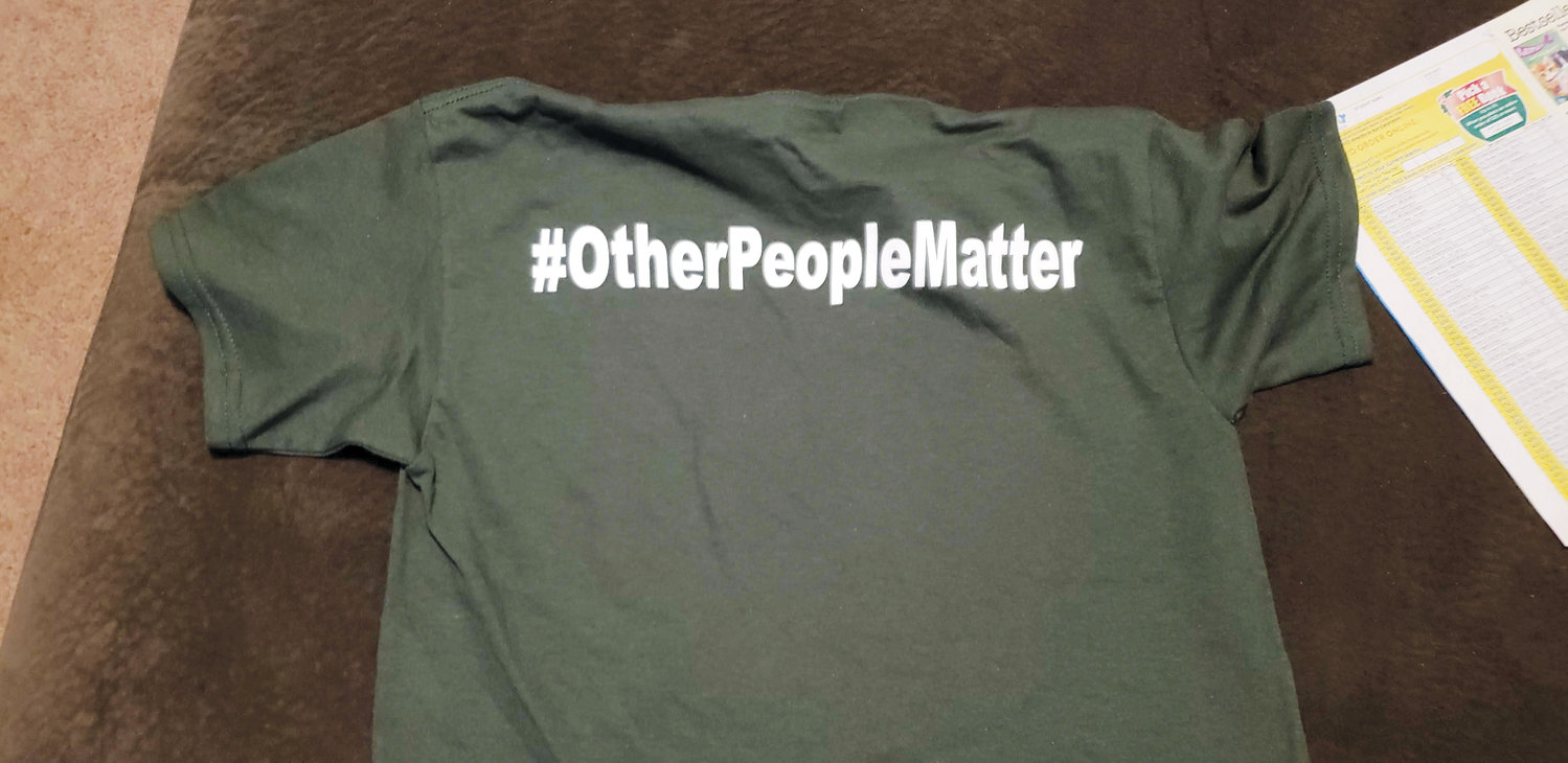 This T-shirt was given to students at several Harnett County Schools when they joined a controversial program called The Positivity Project. Concerned parents have expressed their displeasure with the program and have been successful in having it discontinued at Lillington-Shawtown Elementary.