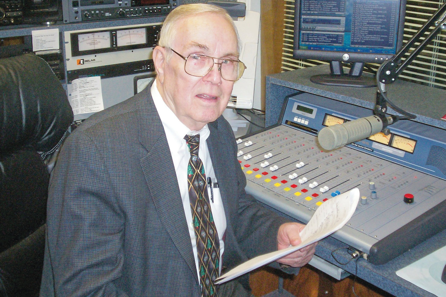 WTSB owner and broadcasting fixture Carl Lamm retired the end of March.