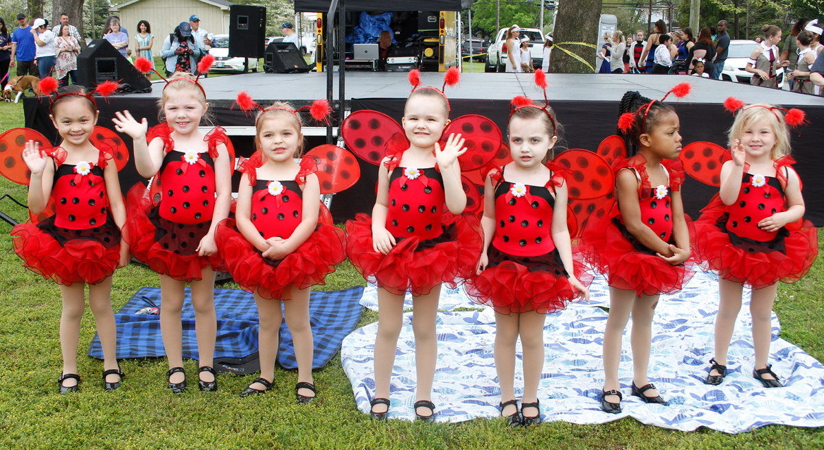 These little ladybugs were ready to 
