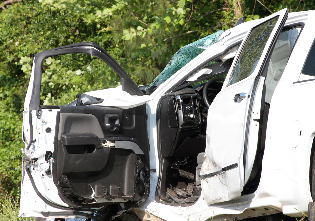 Two Vehicle Accident Sends Two To Hospital Mount Olive Tribune