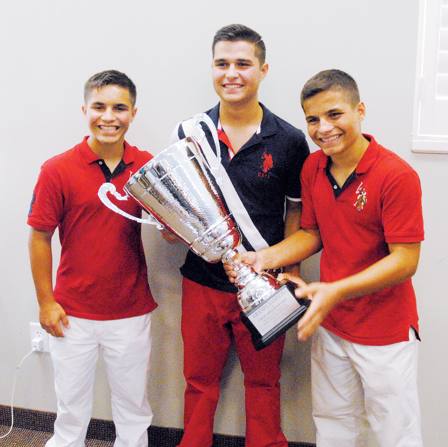 Last year's Grand Championship Cup winners,  the 3 Heath Brothers — Christian, Nicholas and Clayton Heath — from Thomasville will return to compete in the 99th annual State Singing Convention next month.