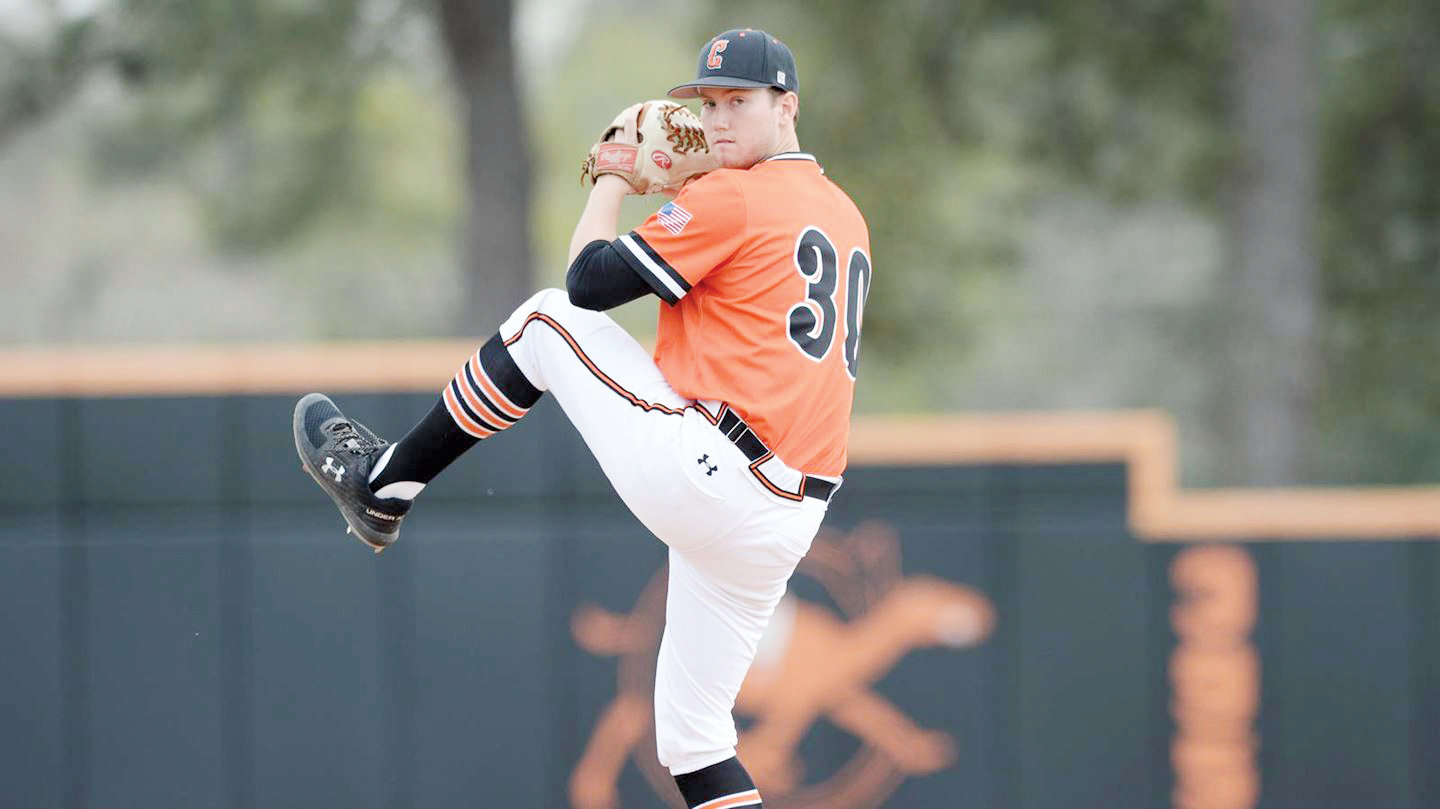 Michael Horrell was selected in the 30th round by the Houston Astros. Horrell was the 2019 Big South Pitcher of the Year.