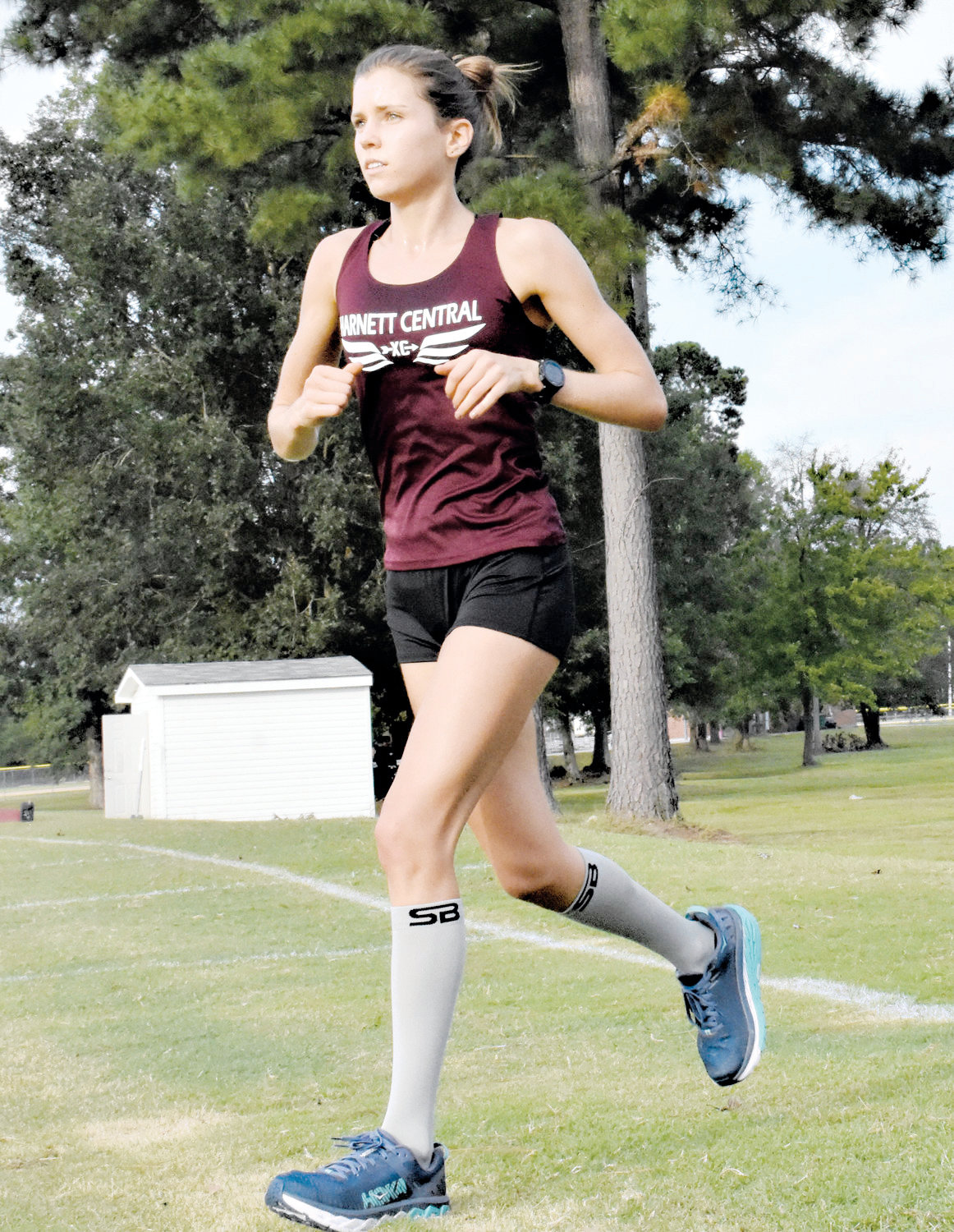 Maggie McCormick helped lead Harnett Central's cross country team to a conference championship and finished as the state runner-up in her junior year.
