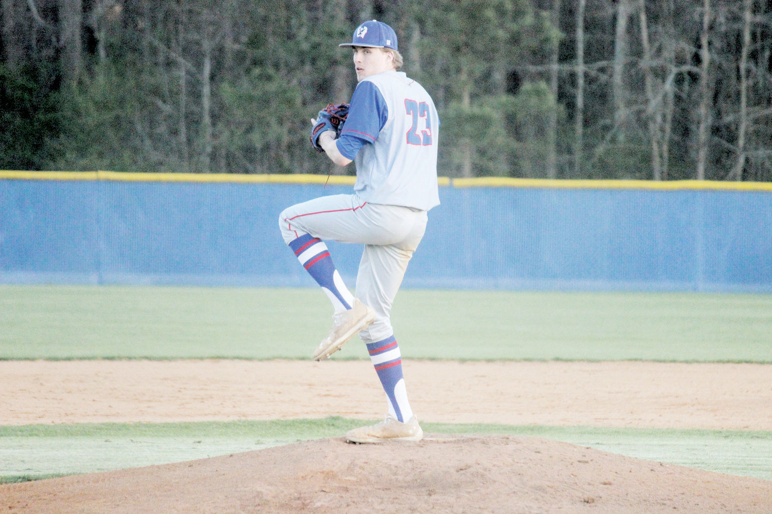 Bradley Wilson was named the Record Pitcher of the Year. Wilson helped lead Western Harnett to a Tri-County Conference tournamnet championship, and is one of the Eagles' six seniors set to play in college as he's signed to pitch at ECU next year.
