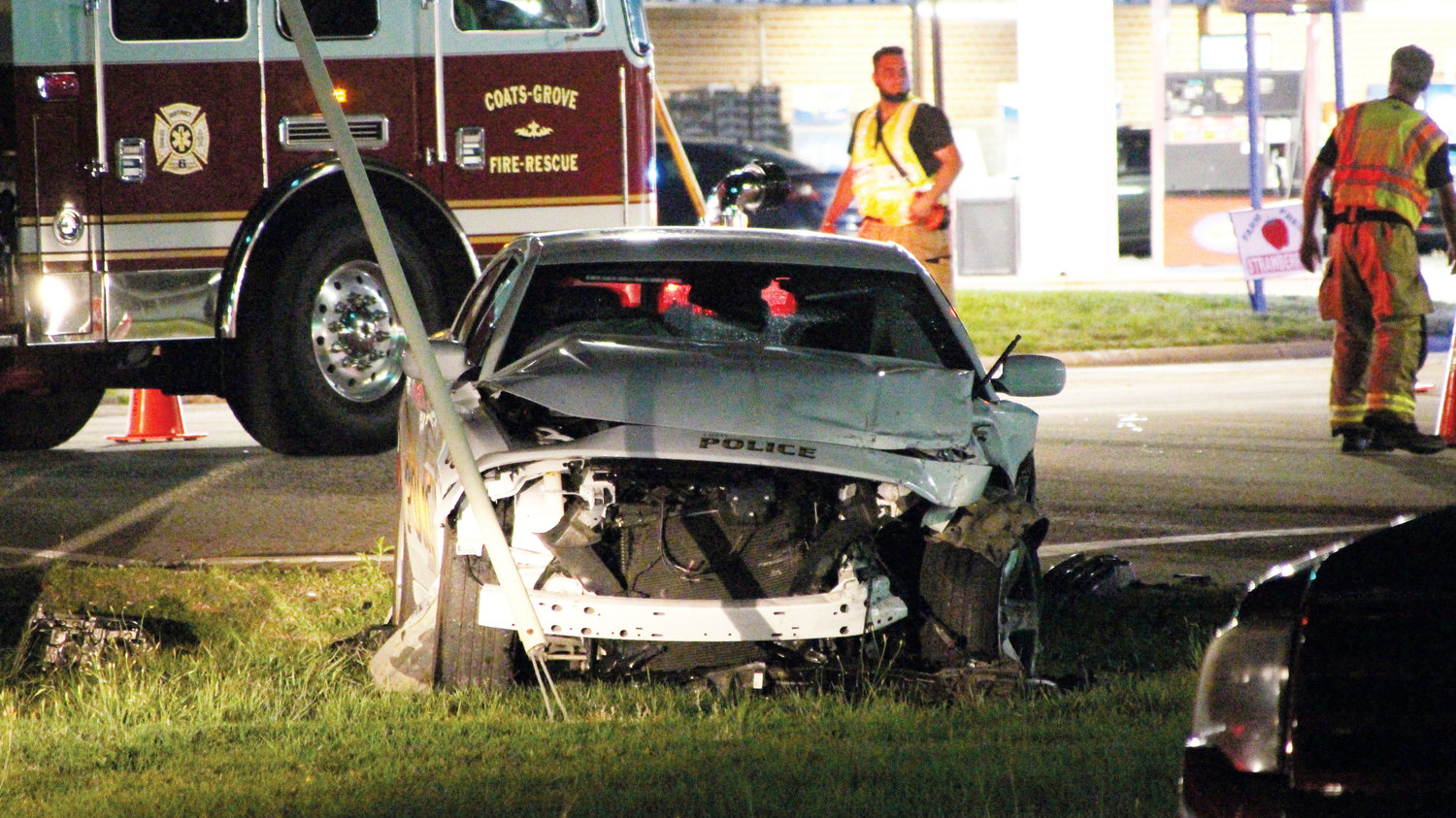 Two squad car wrecks, same highway | The Daily Record