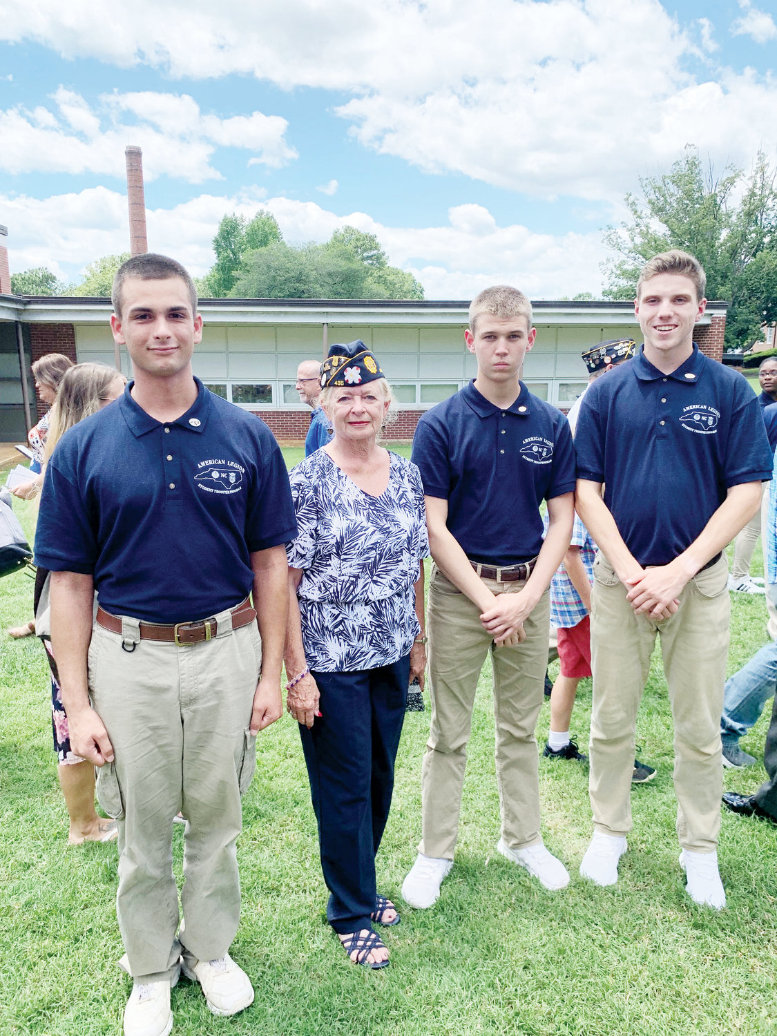 Area students attend American Legion patrol training | The