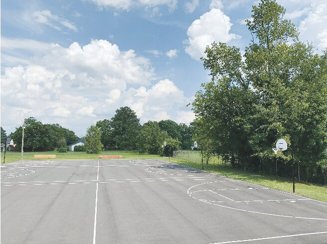 Nelson Street Park, seen here, is among other public parks that are closed to the public due to the coronavirus pandemic.