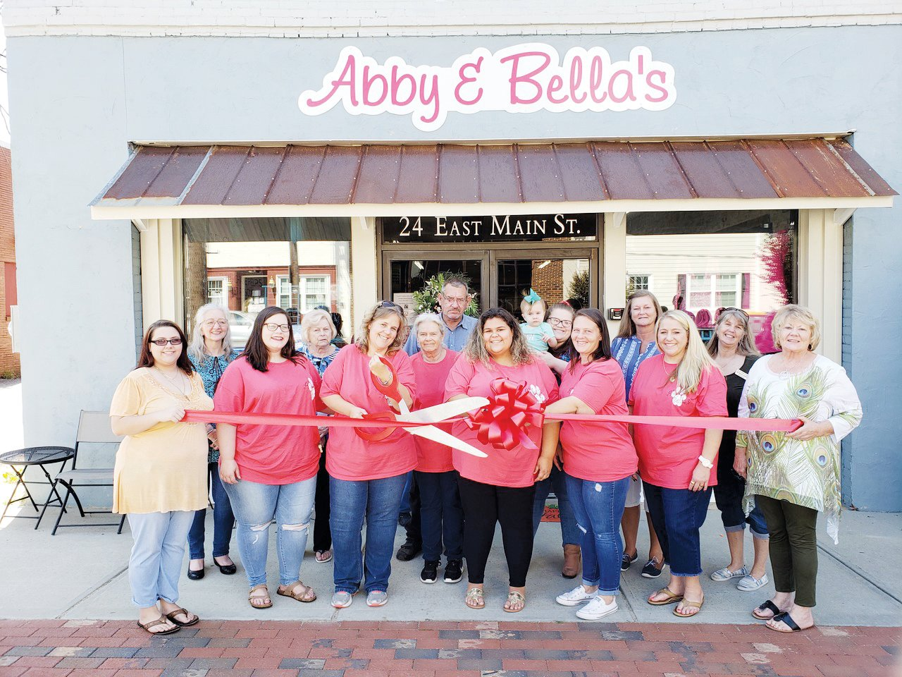 Abby & Bella's a new resale store in Coats celebrated its grand opening with a ribbon-cutting.