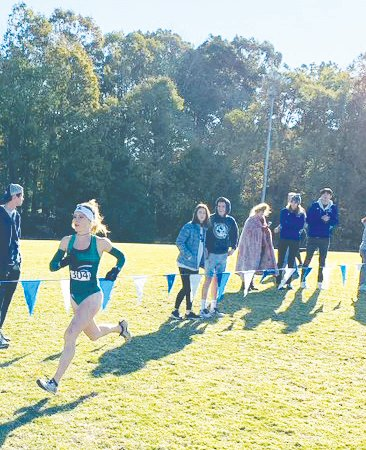 Leah Hanle led all runners finishing first with her time of 20:53.0 to claim her fourth consecutive Southeast Regional Runner of the Year title. Hanle is the first ever runner to win the individual title four years in a row.
