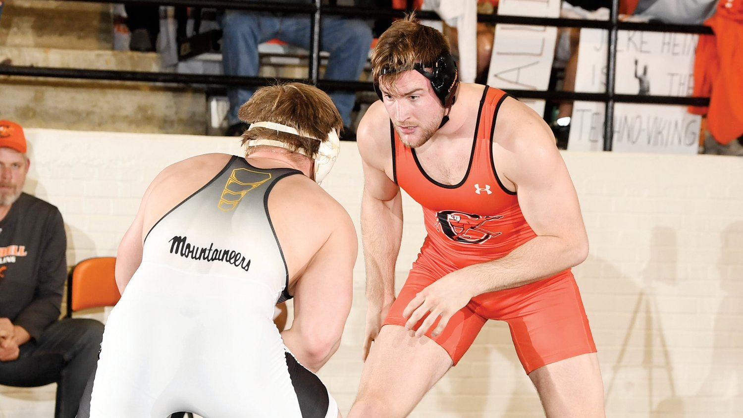 Campbell's Jere Heino has been named Southern Conference Wrestler of the Week.
