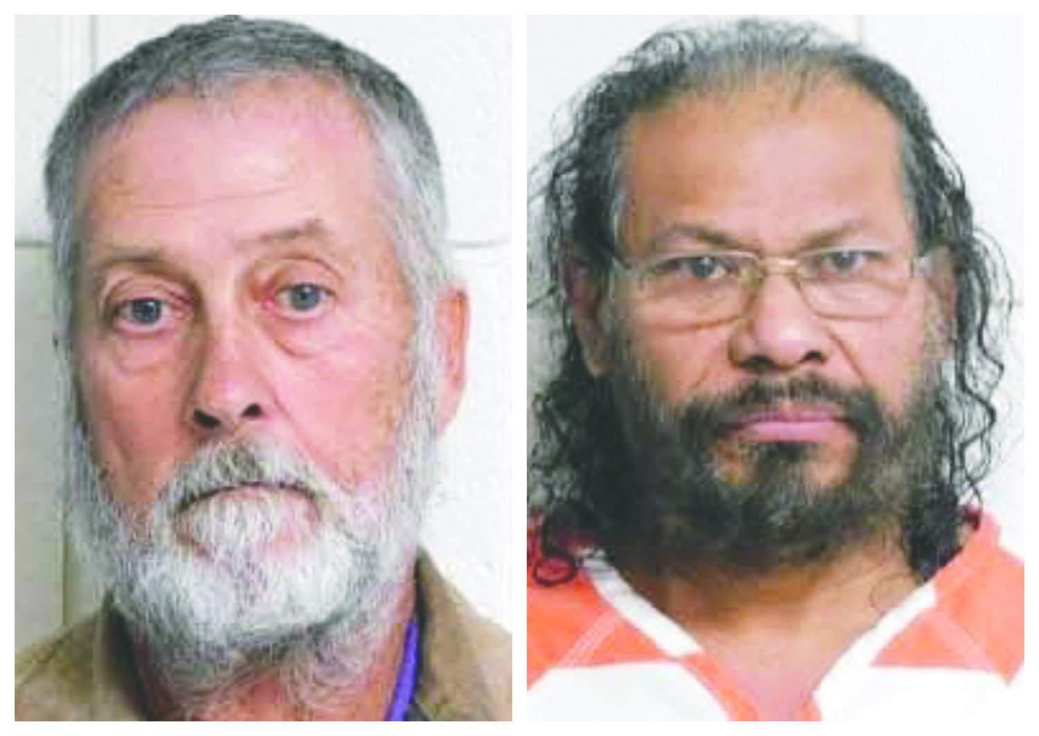 Delmus 'Buddy' Foss, 63, at left, and 61-year-old Rene Zuncin, right, are charged with having sexual misconduct with minors in Duplin County.